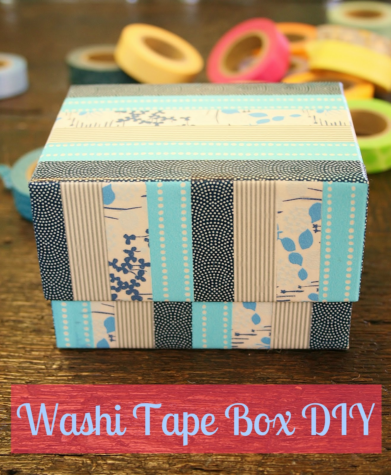 Make it monday with washi tape crafty lifestyle blog for Crafts with washi tape